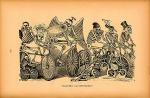"""Calavera """"Las Bicicletas"""" (ca. 1889–95)"""