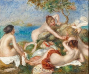 Pierre Auguste Renoir. Bathers with Crab, ca. 1890-1899. Oil on canvas. Acquired through the generosity of Mrs. Alan M. Scaife and family. Image © 2009 Carnegie Museum of Art, Pittsburgh. Photo Credit: Tom Little.