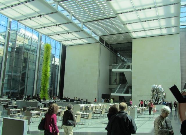 Shapiro Family Courtyard, Art of the Americas wing, Boston MFA. Photo by the author.