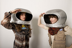 Brenda and Sierra in Space