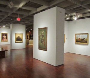 American Paintings gallery, August 2011. Photo by Mel Buchanan.