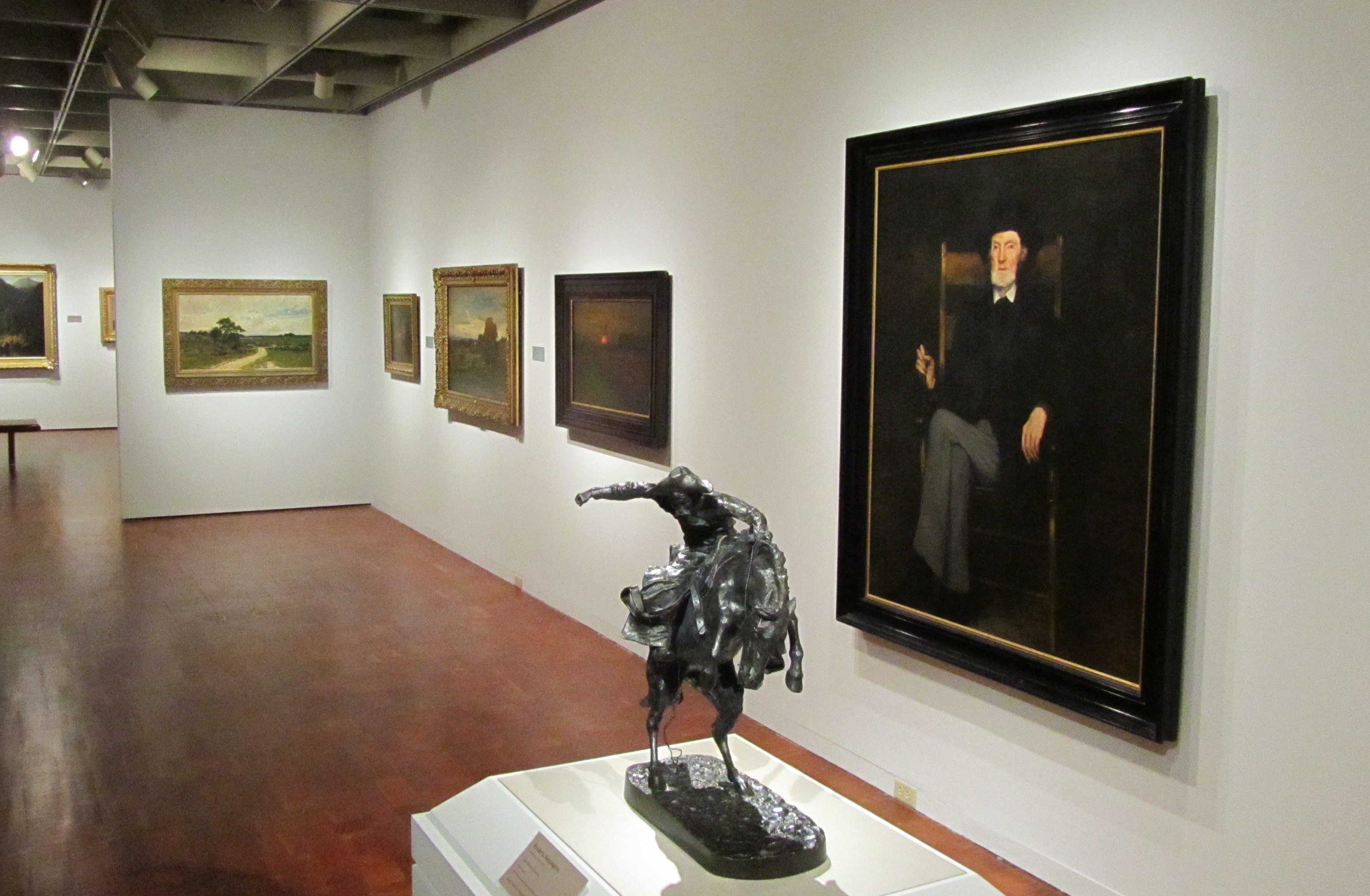 refreshed look for the american paintings galleries milwaukee art