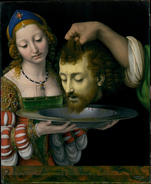 Metropolitan Museum of Art,  Salome by Solario