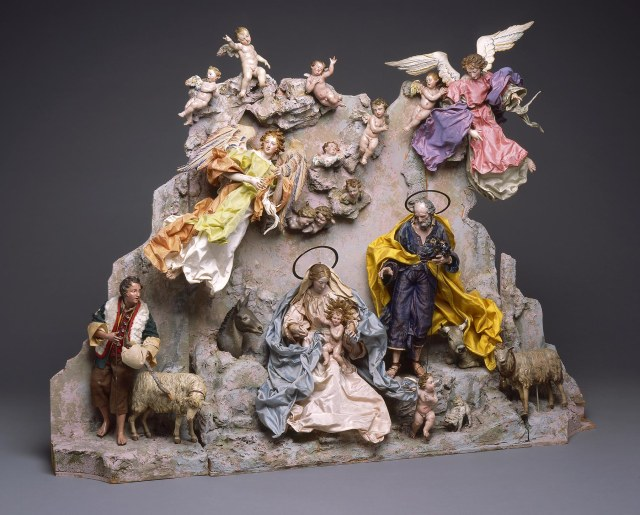 Naples Italy, Nativity Scene (Crèche), mid 1700s. Milwaukee Art Museum, Gift of Loretta Howard Sturgis. Photo by John R. Glembin.