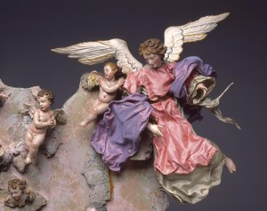 Naples Italy, Nativity Scene (Crèche), mid 1700s. Milwaukee Art Museum, Gift of Loretta Howard Sturgis, M2006.9.1-.20. Photo by John R. Glembin.