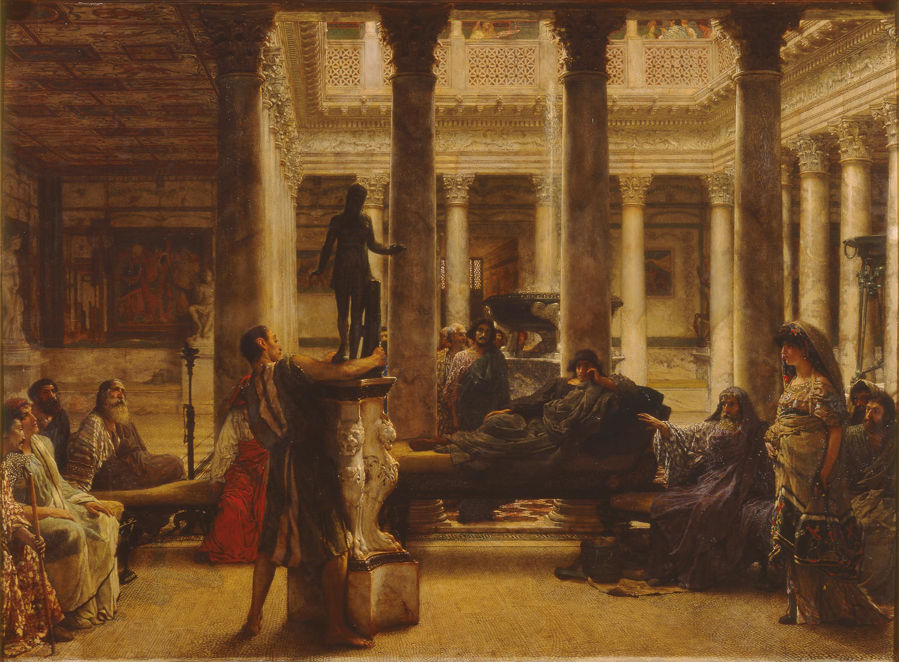 from the collection� �a roman amateur� by lawrence alma