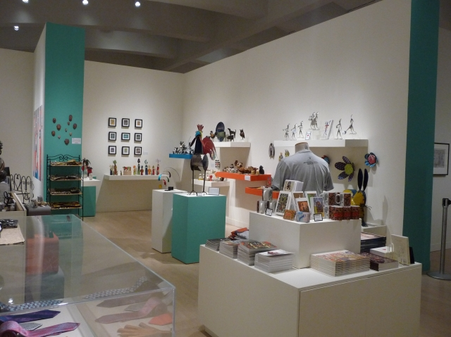 Finished view of the exhibition store