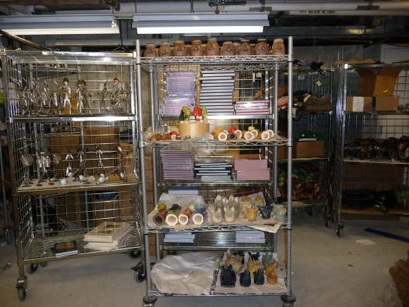 Product in storage