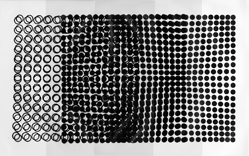 Vasarely: Plastic Arts of the 20th Century, Vol. II. Prefatory remarks by Marcel Joray. Translated from French by Haakon Chevalier. Design and layout by the Artist Victor Vasarely. Published in Switzerland: Éditions Du Griffon Neuchâtel, 1970. Gift to the Milwaukee Art Museum Library of Mr. Robert V. Krikorian