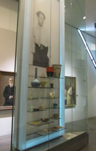 """Grete Marks"" display at the Jewish Museum Berlin. Photo by the author."