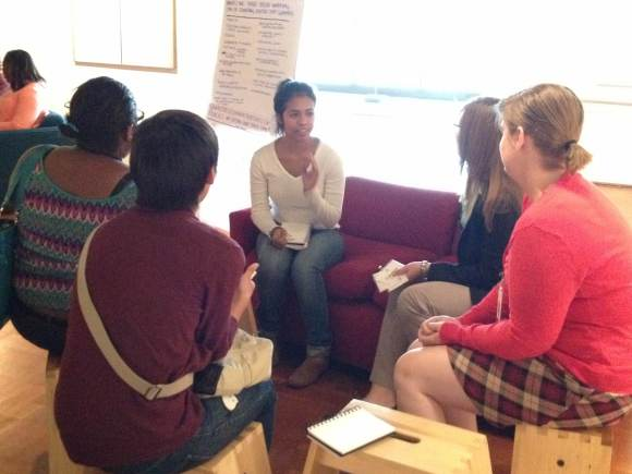 Teens and Museum Staff discuss the future of museums.