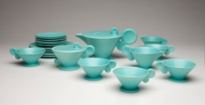 Grete Marks, Tea Service, ca. 1930. Milwaukee Art Museum, Purchase, by exchange. Photo by John R. Glembin