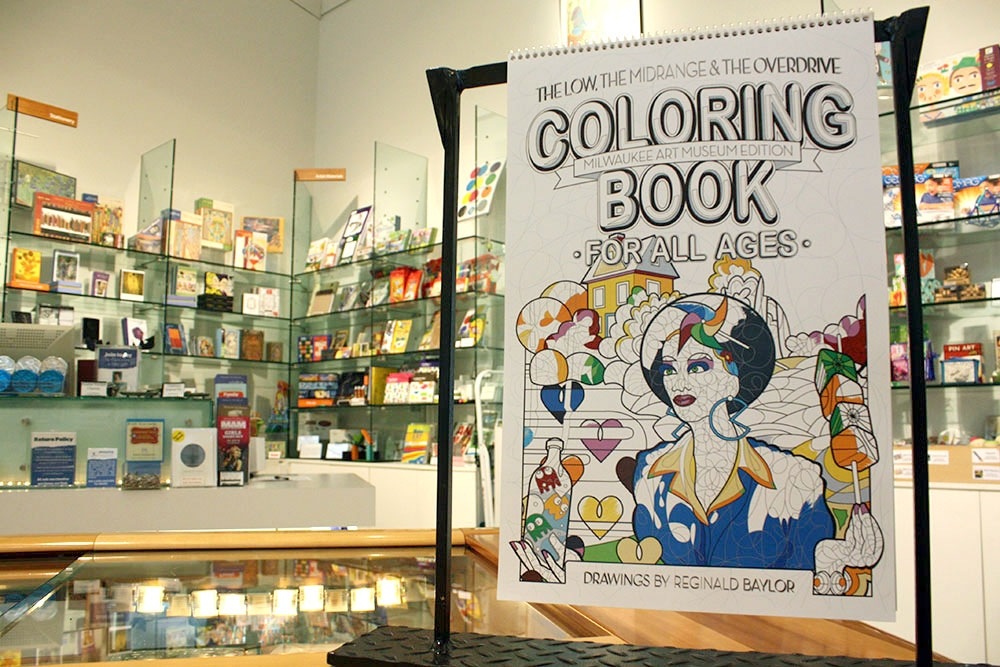 Museum staff coloring contest with reginald baylor for Craft stores in milwaukee