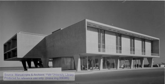 Eero Saarinen collection, 1880-2004 (inclusive), 1938-1962 (bulk). Manuscripts & Archives, Yale University