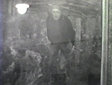 Film still: Jules Bastien-Lepage Le Père Jacques (The Woodgather) in the Layton Art Gallery, circa 1957. Milwaukee Art Museum, Institutional Archives.