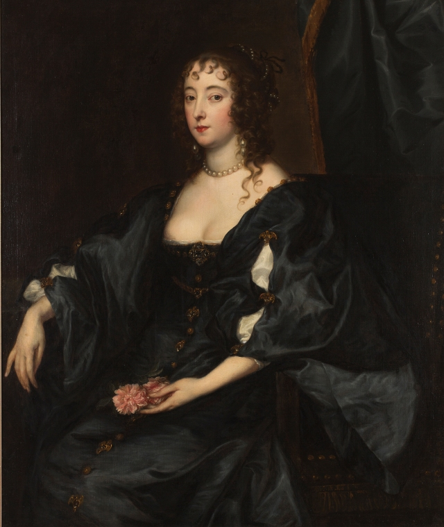 Anthony van Dyck and Studio. Margaret, Lady Tufton, ca. 1632. Oil on canvas. Milwaukee Art Museum, Gift of Mr. and Mrs. William D. Vogel. Photo credit John R. Glembin