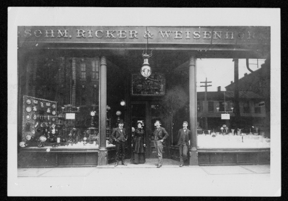 Sohm, Ricker & Weisenhorn circa 1908 (Photo: Quincy Public Library)