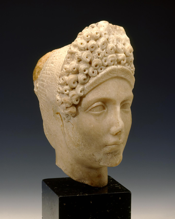 Amazing From The Collectionancient Roman Head Of A Noble Woman Short Hairstyles For Black Women Fulllsitofus