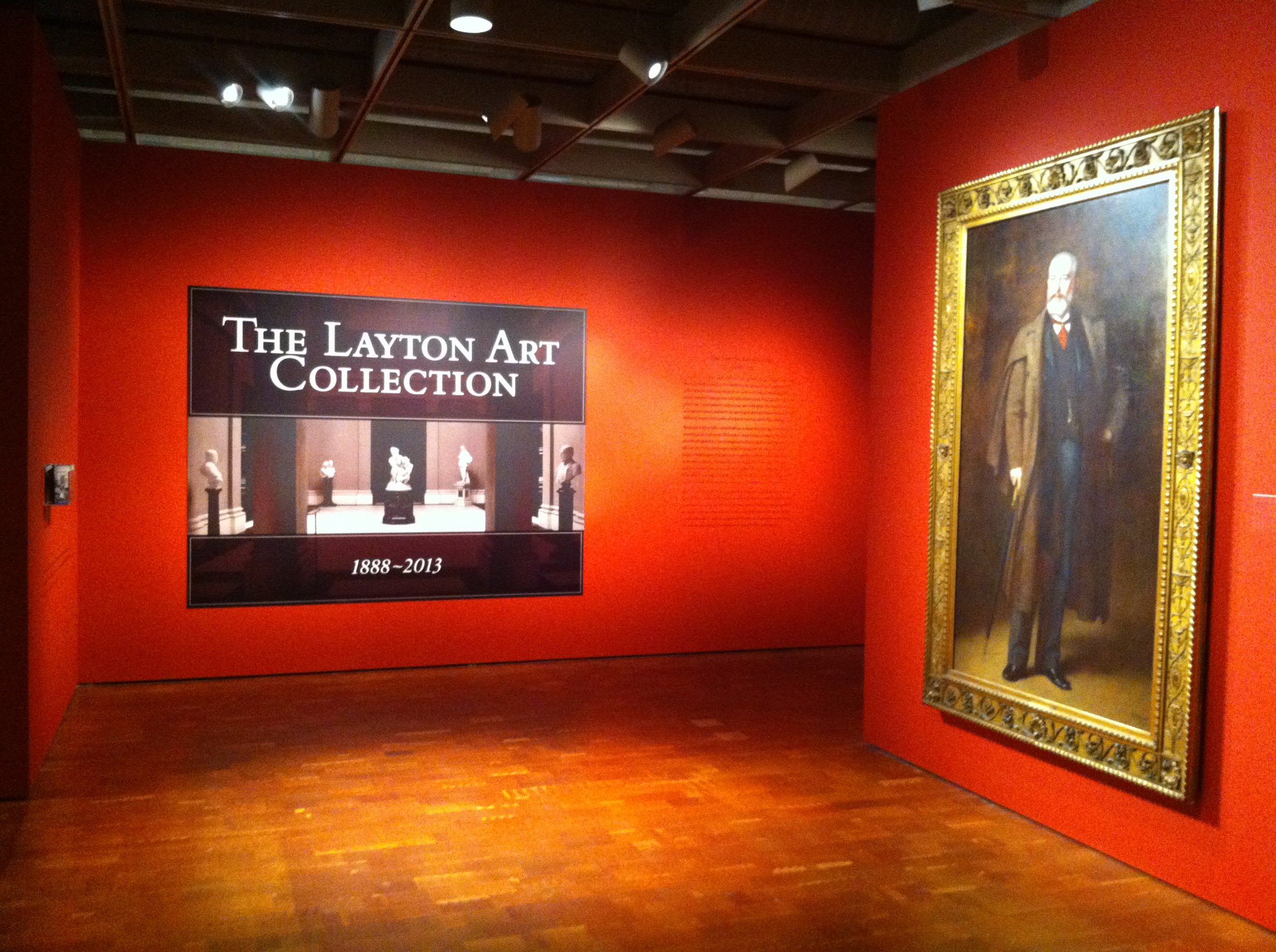 Remodel Ordinary Wall Into Nice Wall Gallery Art: The Layton Art Collection: 1888-2013, Part 1