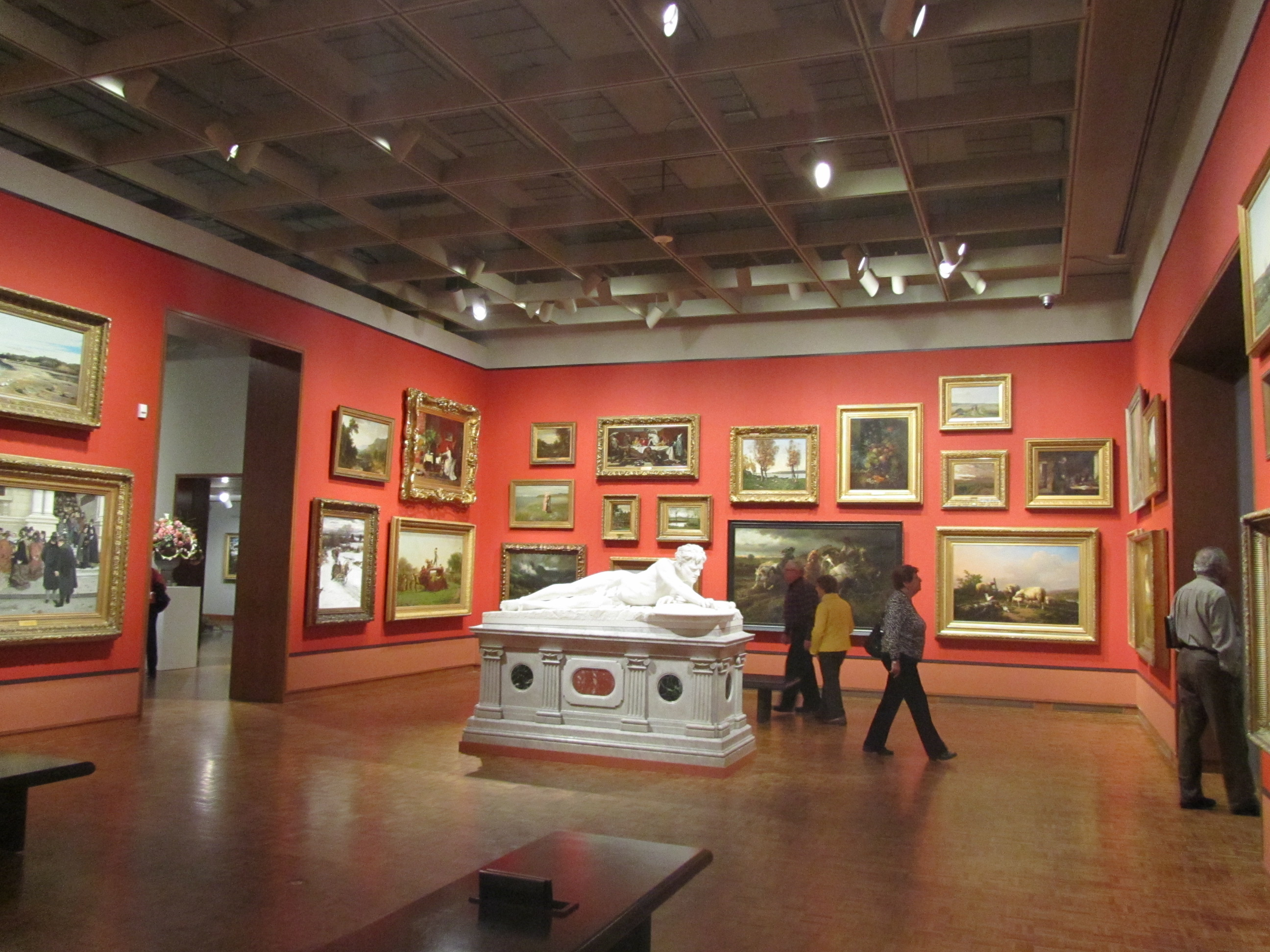 Mr. Layton\'s Gallery–The Salon-Style Hang | Milwaukee Art Museum Blog