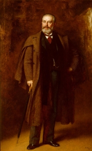 Eastman Johnson (American, 1824–1906), Portrait of Frederick Layton, 1893. Milwaukee Art Museum, Layton Art Collection, Gift of Marshall and Ilsley Bank. Photo credit Dedra Walls