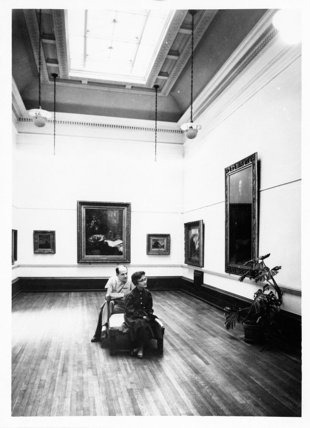Installation at the Layton Art Gallery, ca. 1955, Milwaukee Art Museum, Institutional Archives