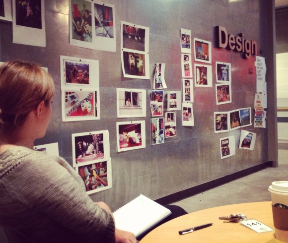 Reviewing image options down in the design studio