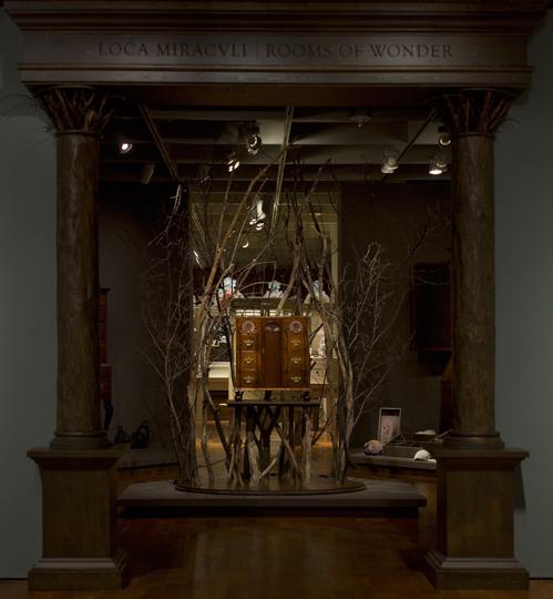 View of Loca Miraculi installation by Martha Glowacki. Photo by Jim Wildeman