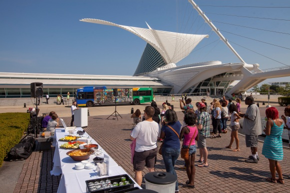 View of the ArtXpress celebratory reception. Photo by Front Room Photography