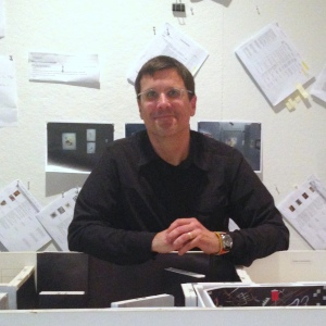 David Russick, Exhibition Designer. Photo by the author