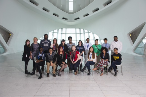 The Satellite High School Program Teens, 2013-14. Photo by Front Room Photography