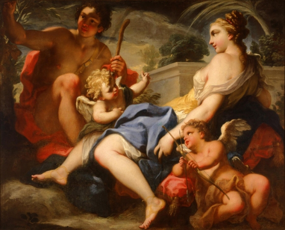 Antonio Balestra (Italian, 1666–1740), The Meeting of Telemachus and Calypso, ca. 1700. Oil on canvas. Milwaukee Art Museum, bequest of Eliza Eliot Fitch M1955.3. Photo credit: Larry Sanders.