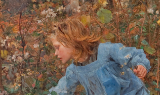 Jules Bastien-Lepage (French, 1848–1884), Le Père Jacques (Woodgatherer) (detail), 1881. Oil on canvas. Miwlaukee Art Museum, Layton Art Collection, Gift of Mrs. E. P. Allis and her daughters in memory of Edward Phelps Allis L102. Photo credit: John R. Glembin.