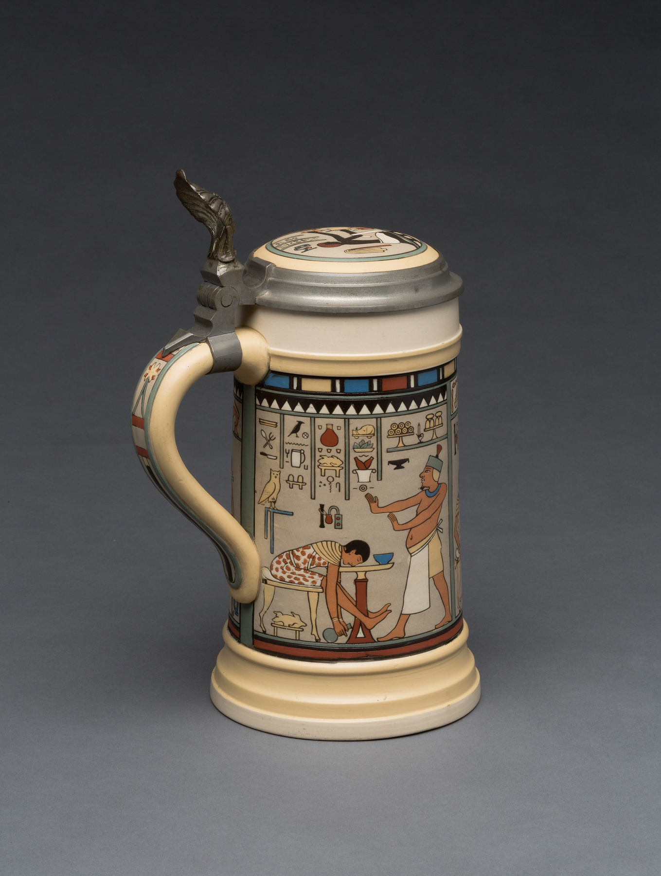 german tankards and steins part 7 humorous mettlach milwaukee art museum blog. Black Bedroom Furniture Sets. Home Design Ideas