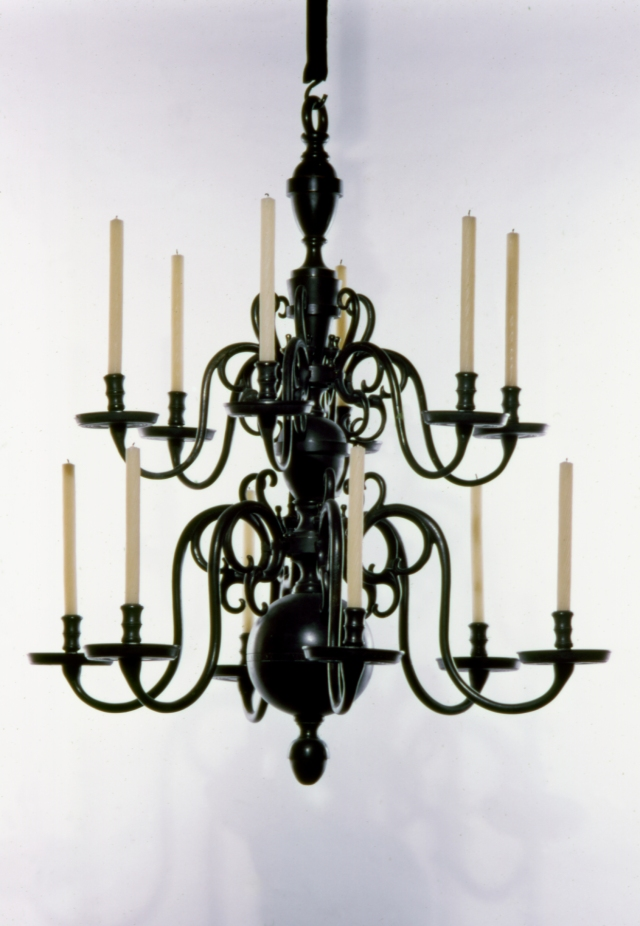 G.H. van, Jr. Hengel (Rotterdam, Holland, active 18th century). Chandelier, 1710-30. Brass, cast iron, 42 1/2 × 36 3/4 in. (107.95 × 93.35 cm). Milwaukee Art Museum, Gift of Friends of Art, M1974.232 Photo credit: P. Richard Eells
