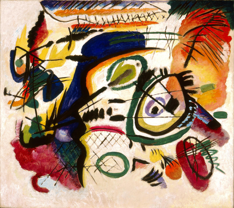From the Collection–Wassily Kandinsky's Fragment I for Composition ...