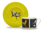 Modern Home Porcelain Cup and Saucer