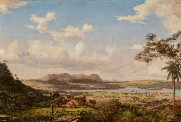 Charles De Wolf Brownell (American, 1822–1909), The Bay of Matanzas, Cuba, 1860. Oil on canvas. Milwaukee Art Museum, Purchase, with funds from Andrew Ziegler M2015.21. Photo credit: John R. Glembin.