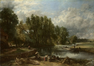 John Constable (English, 1776–1837), Stratford Mill, 1820. Oil on canvas. The National Gallery, London, Presented to the National Gallery under the acceptance-in-lieu procedure, NG6510.