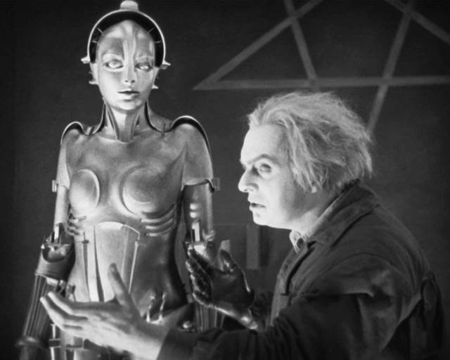 Film still from Metropolis, 1927. Directed by Fritz Lang