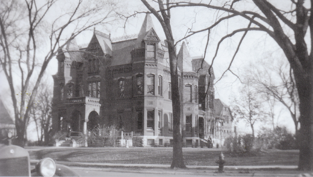 Pillsbury Mansion, Milwaukee. Courtesy of the Milwaukee County Historical Society
