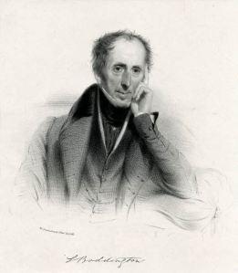 Portrait of Samuel Boddington, ca. 1835. Lithograph. The British Museum 1865,0610.1198 © Trustees of the British Museum.