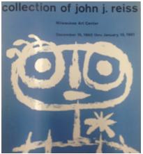 John J. Reiss, exhibition catalgoue, Collection of John J. Reiss, 1960