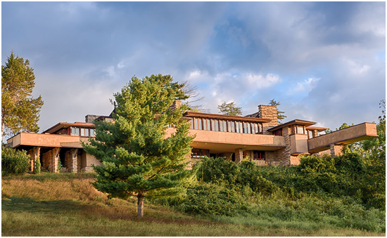 View of Taliesin. From: FrankLloydWright.org