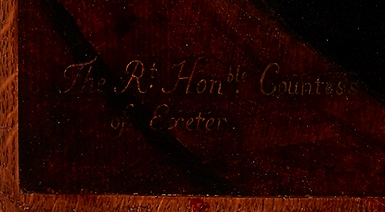 Cornelius Janssen van Ceulen (English, 1593–1661), The Countess of Exeter (detail), ca. 1620. Oil on panel. Milwaukee Art Museum, Bequest of Catherine Jean Quirk M1989.68. Photo credit: John R. Glembin.