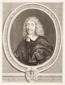 Robert Nanteuil (French, 1623–1678), Melchoir Gillier, 1652. Engraving.Milwaukee Art Museum, Purchase with funds from the Hockerman Charitable Trust through Print Forum M1992.212. Photo credit: John R. Glembin.
