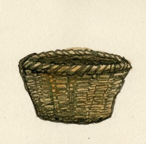 Egg basket (circa 1900).