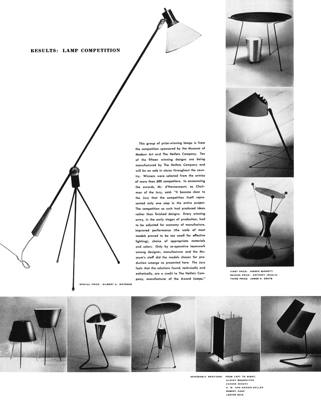Spread from Arts and Architecture, May 1951.