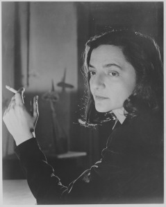 "Zahara Schatz, publicity photograph released in connection with the exhibition, ""New Lamps,"" March 27, 1951–June 3, 1951. Photographic Archive. The Museum of Modern Art Archives, New York. IN473.4."